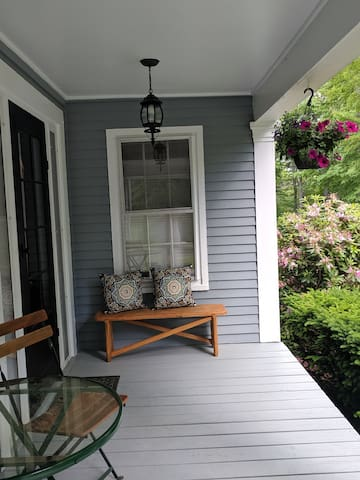 Guest entrance and sitting porch