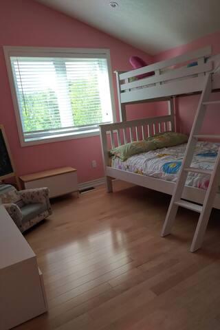 Bedroom 4 on the upper floor