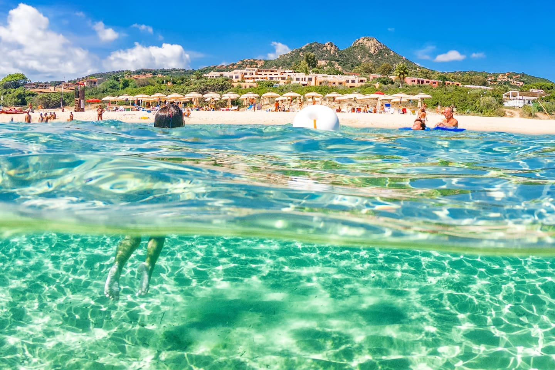 Ogni mattina questa sarà la tua spiaggia privata del residence! Sei pronto?