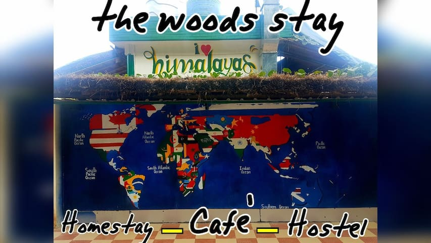Stay at 'the woods stay'