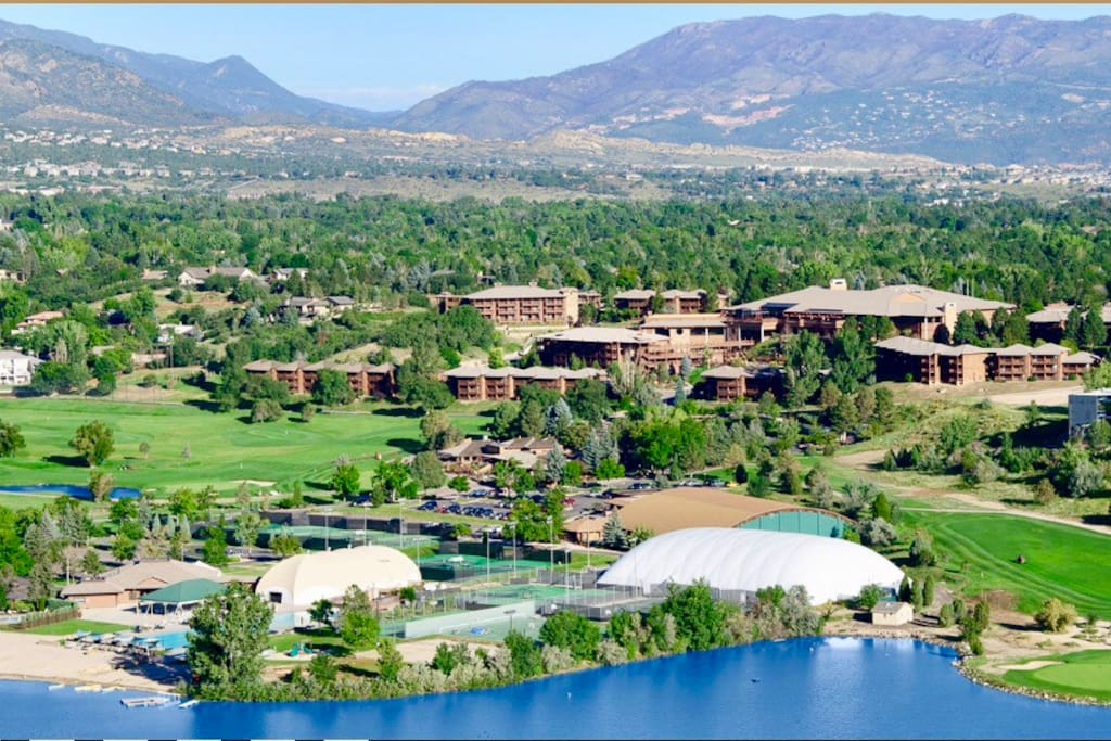 View of Cheyenne Mountain Resort and Country Club