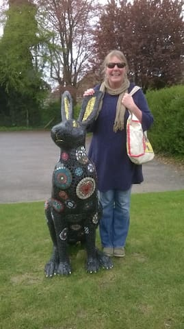 Hares in  a roman town -  Come and find out more - Cirencester - Dům