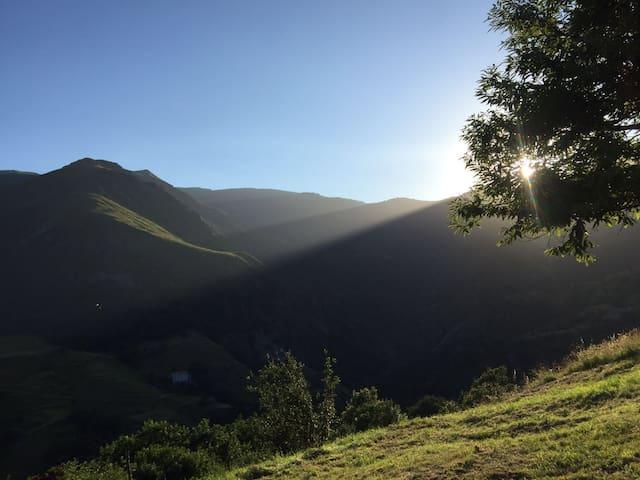 Panorama sull'Appennino Ligure