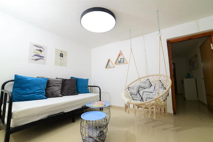 1bdrm sweet apartment with hammock