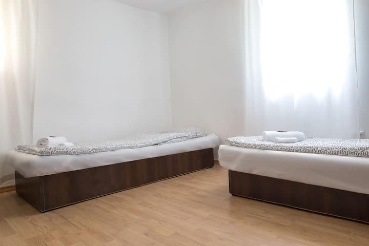 2 osobowy pokój w oficynie Sopot