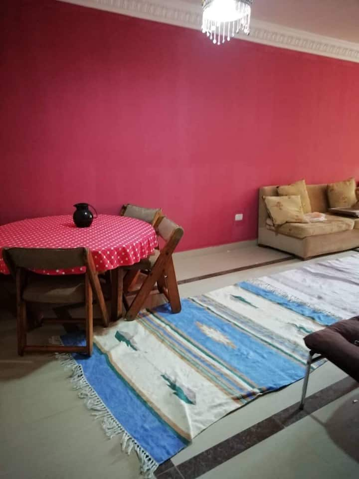 Centrally located and newly furnished apartment