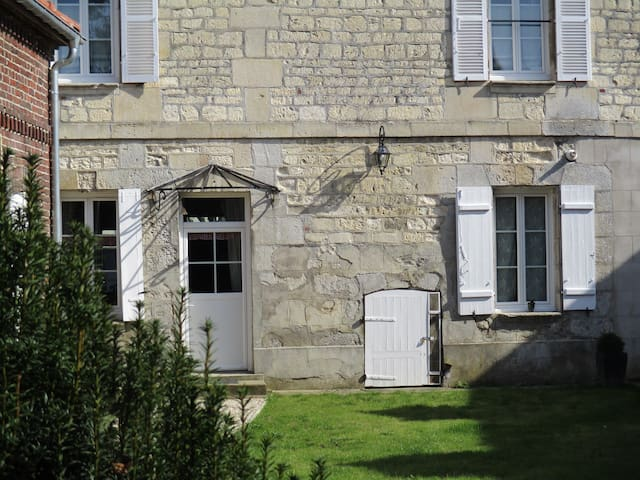 Suite pour 3p dans une maison chargée d'histoire - Estrées-Saint-Denis