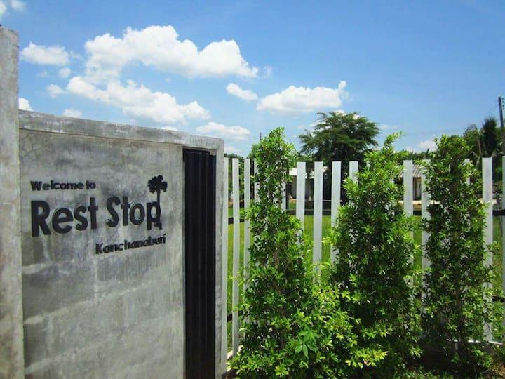 Rest Stop at Kanchanaburi