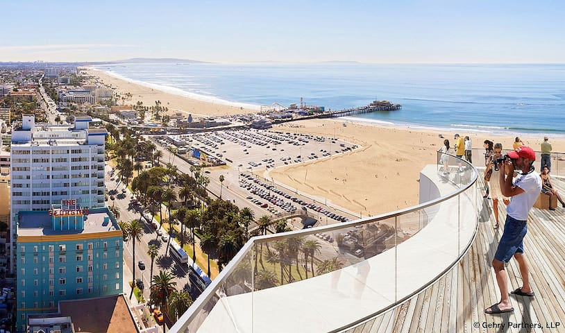 Lux room in SM 5 min to the beach - Santa Monica - Appartement