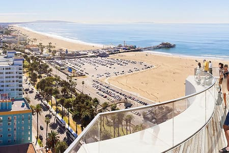 Lux room in SM 5 min to the beach - Santa Monica - Lejlighed