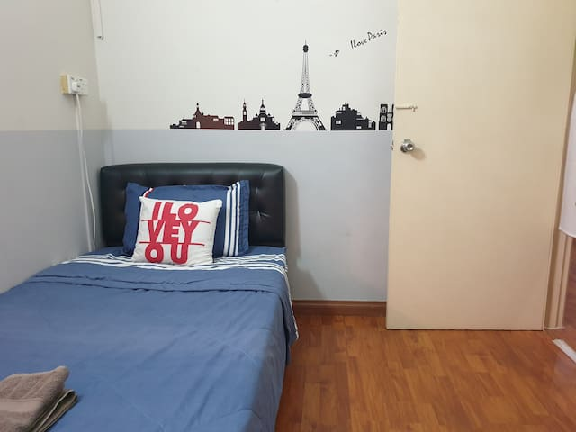 {HOUSE 1@ROOM 1}PRIVATE ROOM NEAR SUNWAY PYRAMID