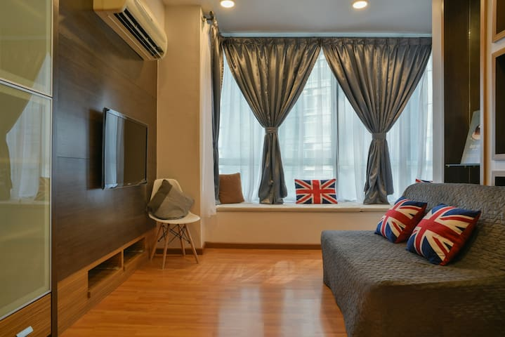 CozyHome #6, [Netflix], 1 Bedroom, 350m to KLCC