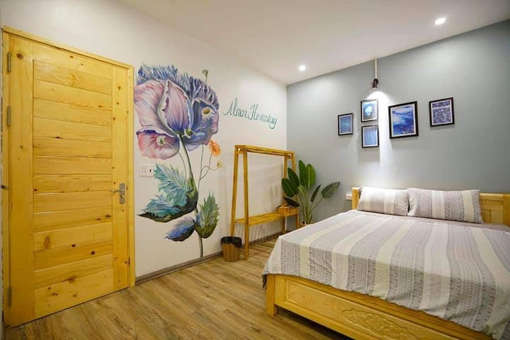 Stylish homestay private rooms with pool in Summer