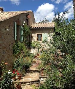 L'Oustalou d'Aouzedos - côté cerisiers - Riols - Inap sarapan