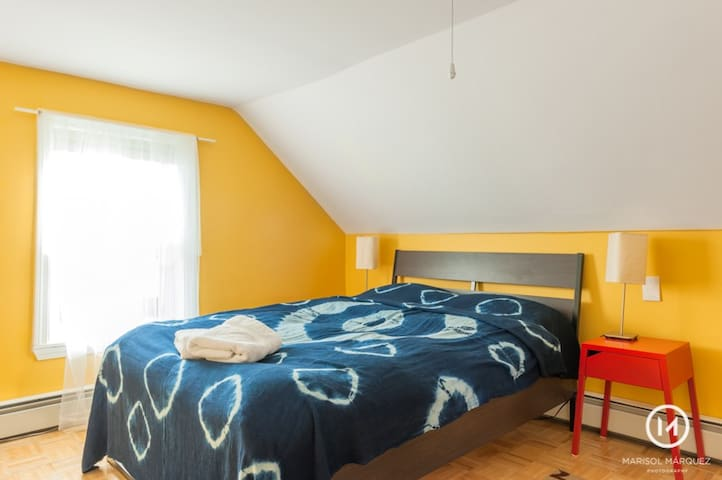 Private room-10 min to downtown15 min to Cambridge