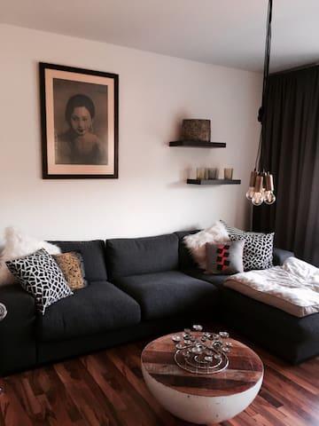 Schöne Wohnung 5min. vom See entfernt - Haltern am See - Appartement