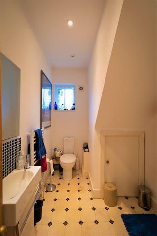 Bathroom & Shower - Ground Floor