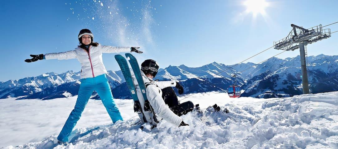 Skigebiet Paß Thurn/Kitzbühel