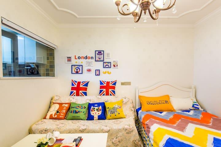 沙坪坝郁金香公寓轻轨一号线靠近重大单间整租 - Chongqing - Apartamento