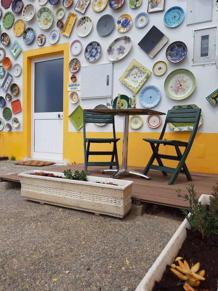 Sagres Relax Studio 2: 50m Tonel Beach