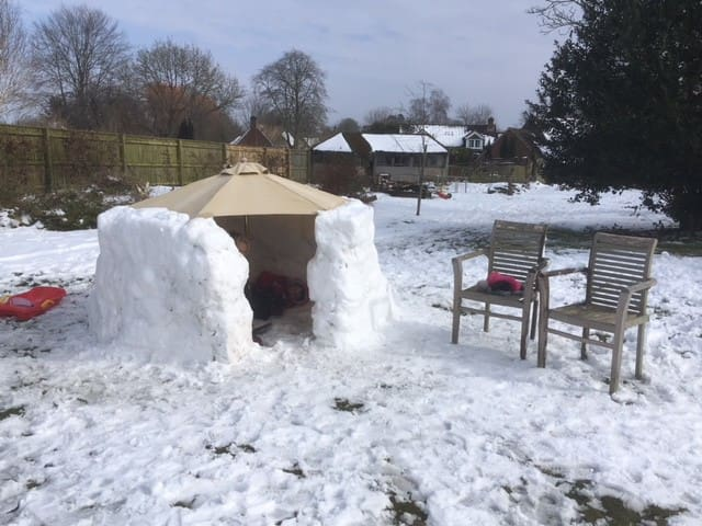(Very) short-term igloo available