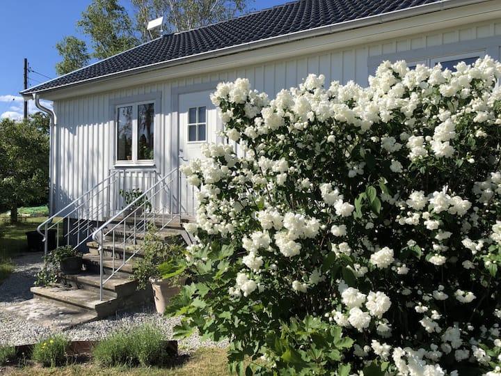 Sommarhus med stor privat trädgård