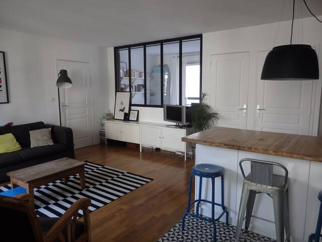 Logement familial proche du métro - Les Lilas - Apartment
