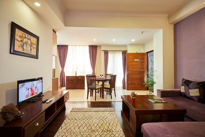 Lively Suite 1BHK Apartment