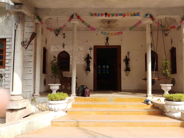 Tourist bungalow amidst nature for relaxed stay