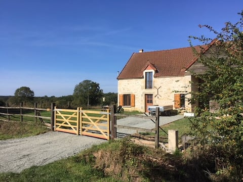 Converted barn in rural location