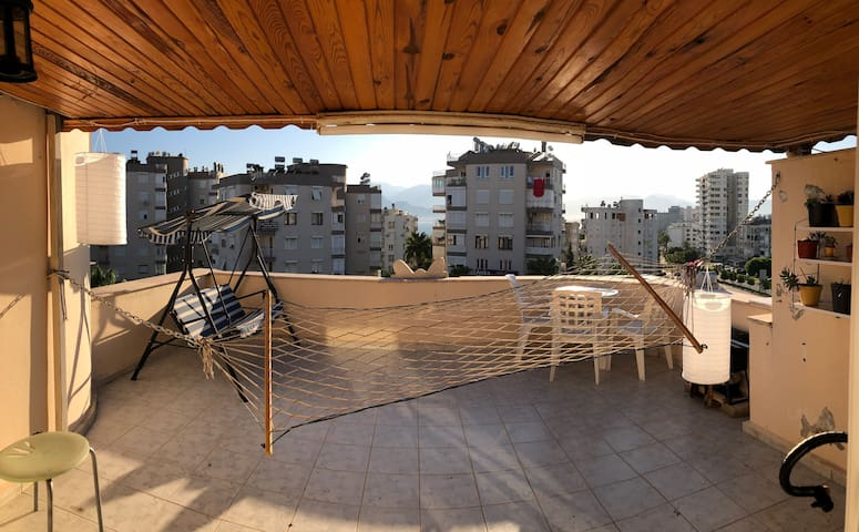 Amazing rooftop at a great location