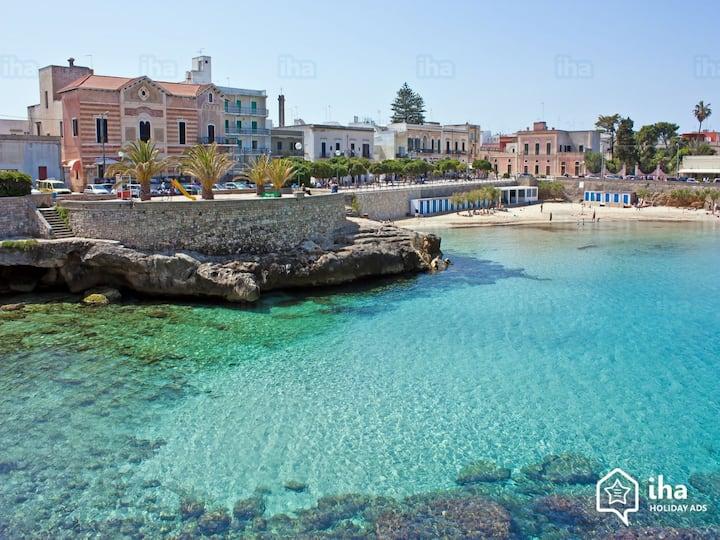 App.to Santa Maria al Bagno vista incantevole