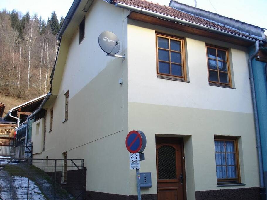 It is a two-storey house in the very centre of the town, and it has 3 rooms, a kitchen, two WCs with a shower. Up to 9 people can stay in the house. You can park your car in the main square or by the church (approximately 50 m from the house).