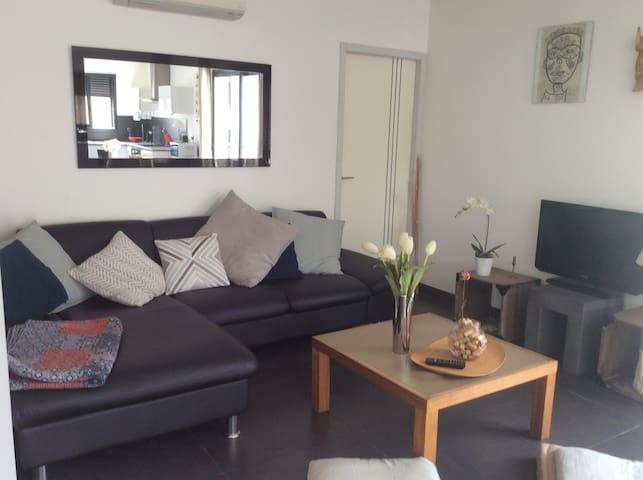Appartement moderne avec jardin et terrasse - Saint-Hippolyte - Apartament