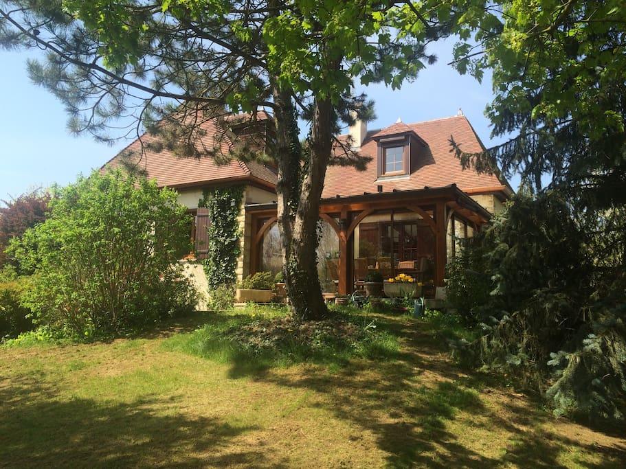 Villa burgondie case in affitto a arc sur tille bourgogne franche comt francia - Jardin anglais neuchatel dijon ...