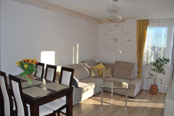 Piękne, nowoczesne mieszkanie dla 2 osób