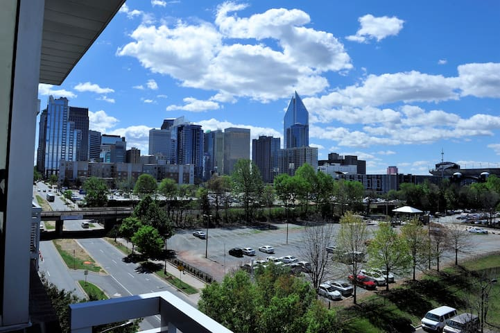 Luxury Modern Loft Private Room--Uptown Charlotte