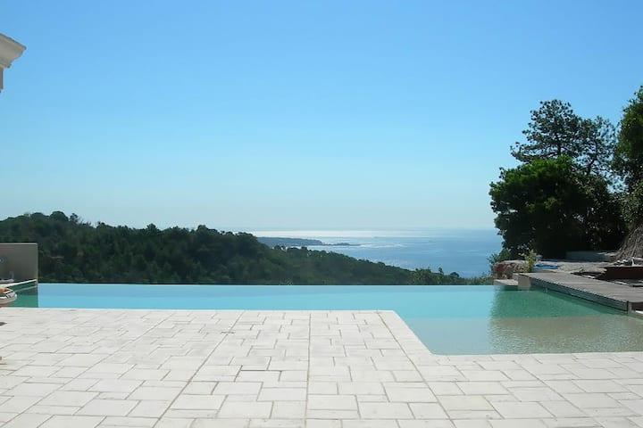 Villa de luxe à Cannes avec piscine privée et jardin
