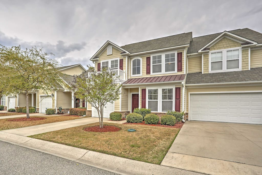 The home is located in Barefoot Resort, North Myrtle Beach's most prestigious community.