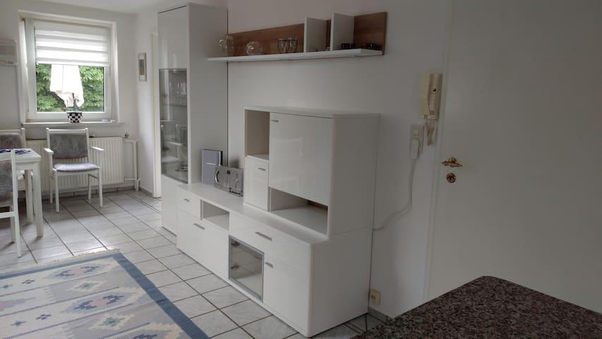 Schrankwand im Esszimmer