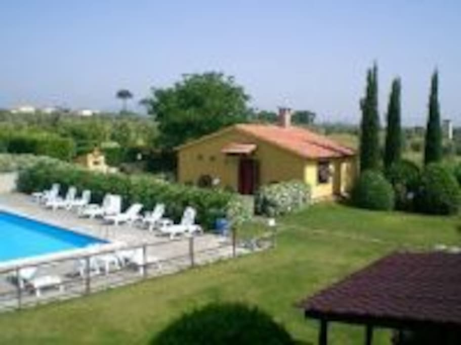 casa Milla giardini e piscina