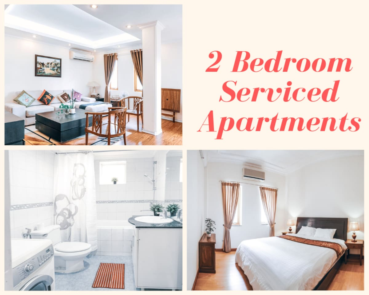 SunriseStays Serviced Apartment - The property is about 5 minutes walk to HANOI OPERA HOUSE. The beautiful 2 bedroom apartment is a perfect destination for a family or a bigger party of guests as it can host up to 4 PERSONS.