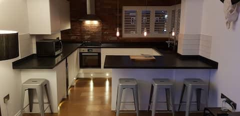 Smart Double Bedroom in Modern Apartment