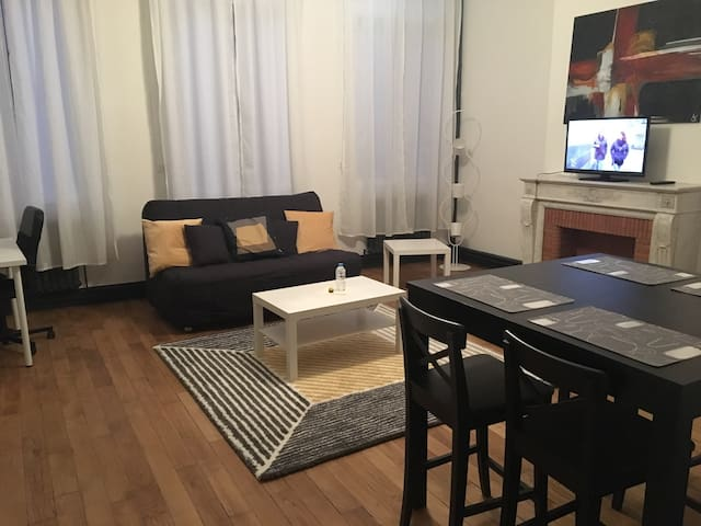 Superbe appartement en hyper centre - Saint-Quentin - Apartamento