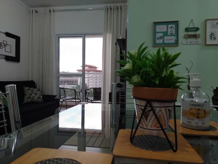 Apartamento inteiro em Águas de Lindoia.