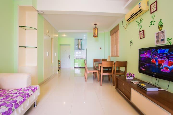三亚亚龙湾一厅二卧房