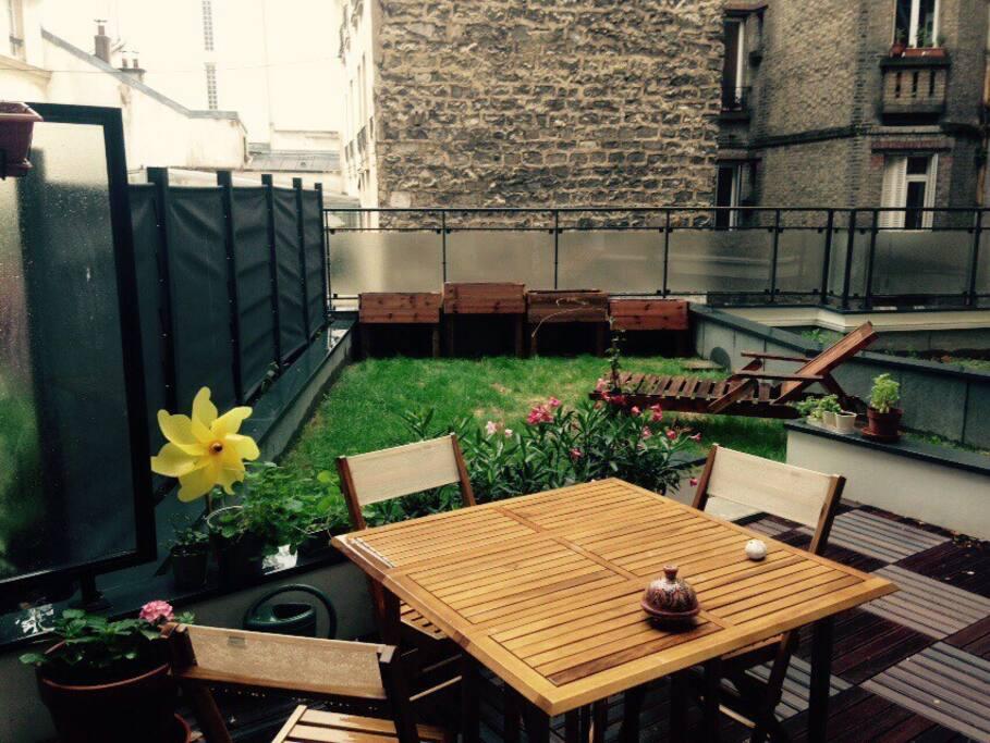 Joli 2 pi ces avec grande terrasse appartements louer for Restaurant avec terrasse ile de france