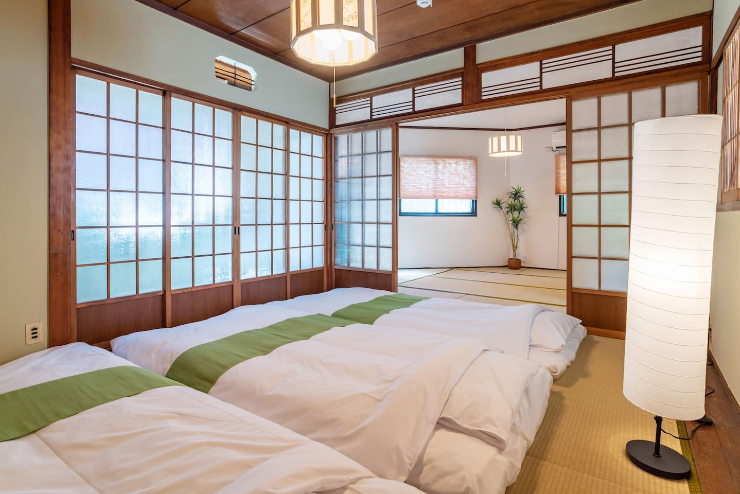 2F bedroom. Traditional Japanese-style room.