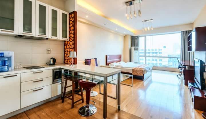 北京国贸高档精装公寓#6