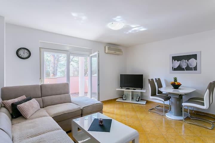 Seka apartment 400m from sandy beach